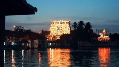 seva's pooja timings of Padmanabha swamy temple
