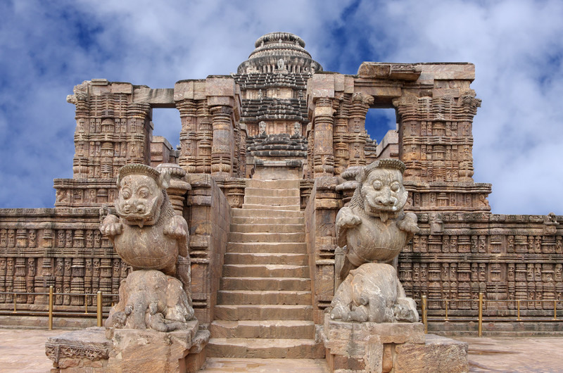 famous attractions in Orissa