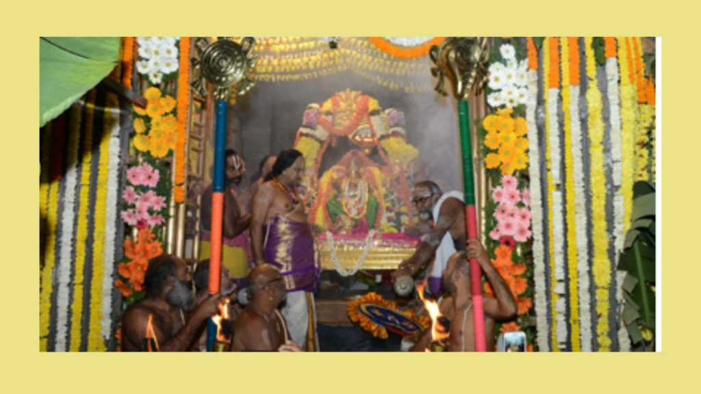 timings and special poojas simhachalam