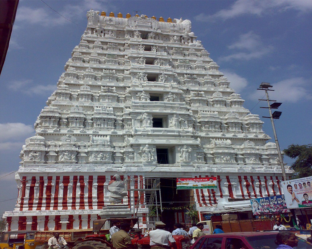 about the srikalahasti temple
