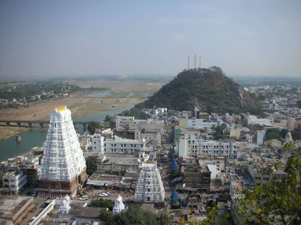 about the srikalahasti temple