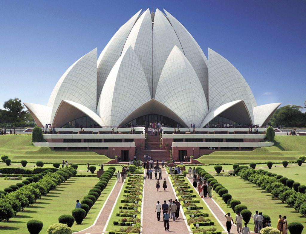 about lotus temple kalkaji newdelhi delhi