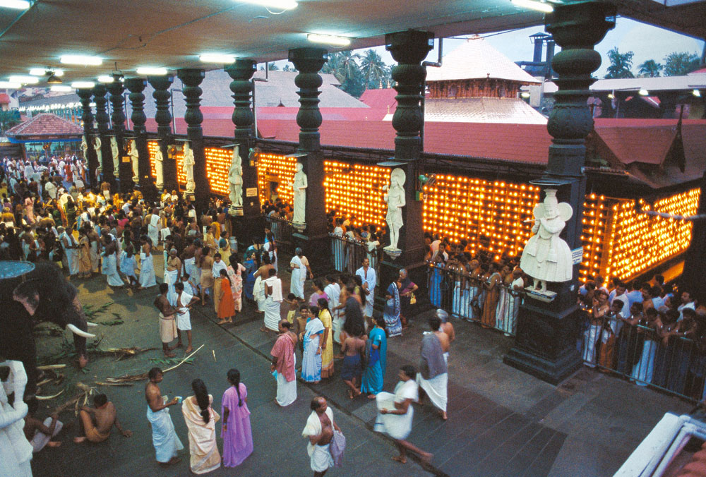 Lord Krishna in Temple Guruvayur