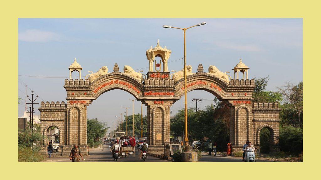 Junagadh-Gate-near-somnath-temple
