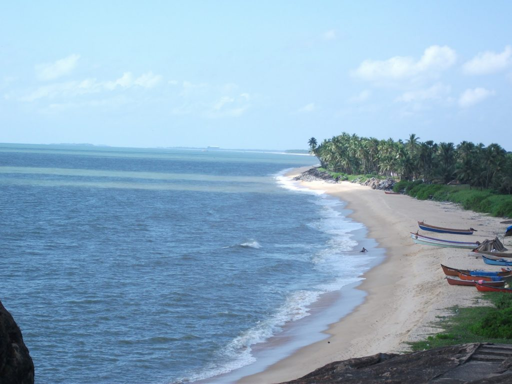Kaup Beach – it is located 15km from Udupi