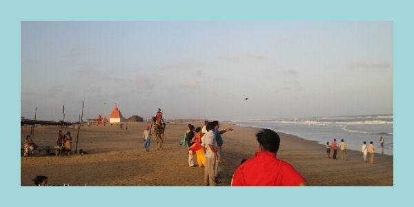 Konark Beach near jagannath temple