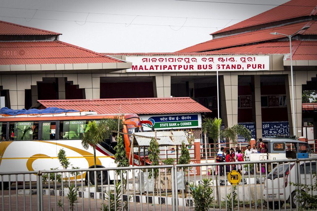 Malatipatpur bus stand