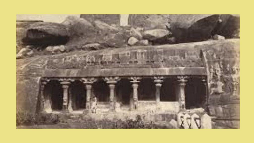 Panch Pandav Gufa near somnath temple