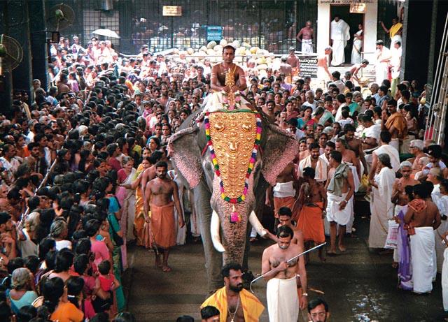 Lord Krishna in the Temple Guruvayur