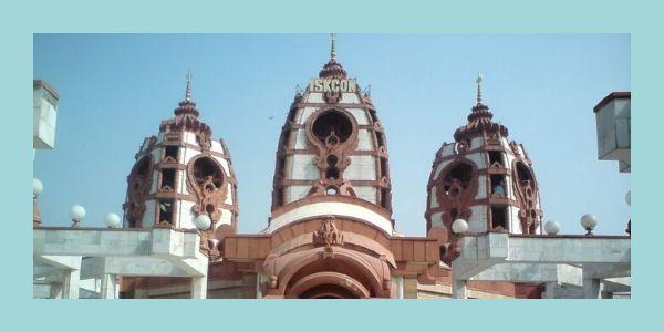 The ISKCON temple Delhi