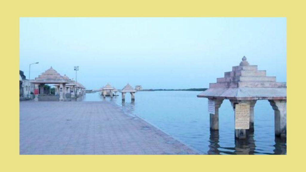 Triveni Sangam near somnath temple