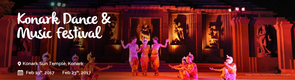 Festival in Konark Temple at Odisha