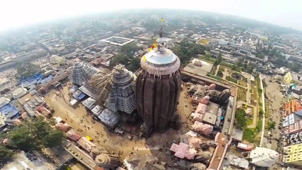 epic of the great temple puri Jagannath