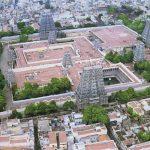 Structuring And Architecture Meenakshi Amman Temple, Madurai Tamilanadu