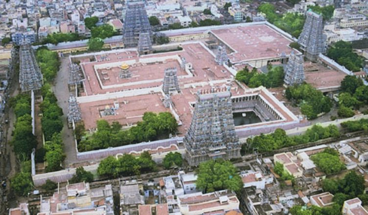 Structuring And Architecture Meenakshi Amman Temple