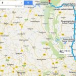 Travelling And Route Map Of Srisailam,Kurnool District Andhra Pradesh