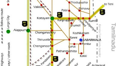 Travelling And Route Map Sabarimala Temple