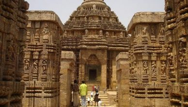 Visiting Places around Konark