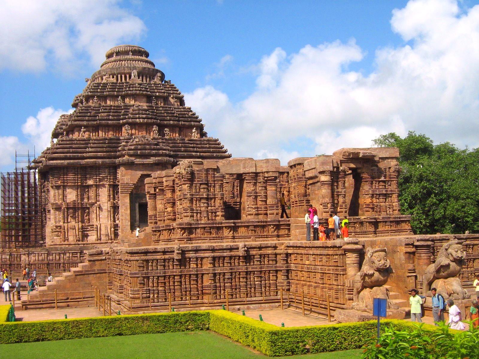 About Konark Temple At Odisha