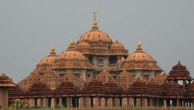 Accommodations in Akshardham Temple